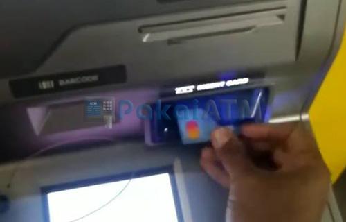 7. Masukkan Kartu ATM Lama