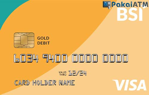 ATM BSI Visa Gold