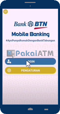 Buka Aplikasi BTN Mobile