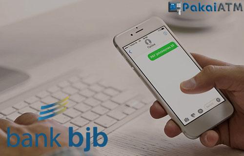 Cek Saldo ATM BJB lewat SMS Banking
