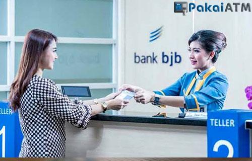 Cek Saldo ATM BJB lewat Teller Bank BJB