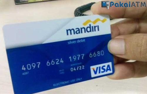 Ciri Ciri ATM Mandiri Debit Magnetic Stripe
