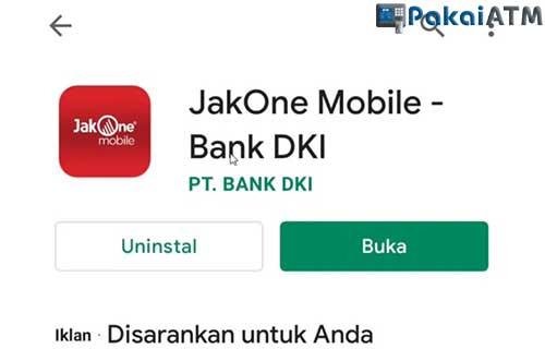 Downlaod Aplikasi JakOne Mobile Bank DKI