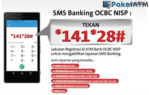 Fitur yang Tersedia di SMS Banking OCBC NISP