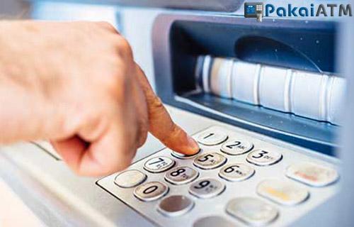 Fungsi Tombol Mesin ATM