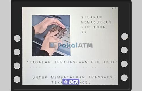 Input PIN ATM BCA