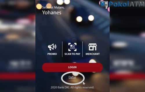 Jalankan Aplikasi JakOne Mobile
