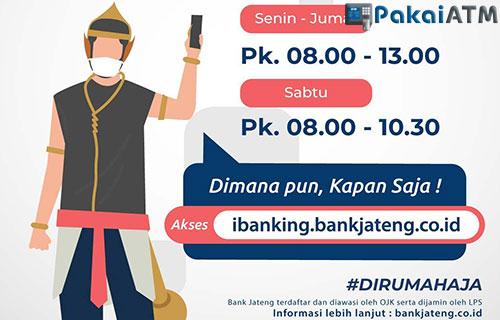 Jam Operasional Bank Jateng