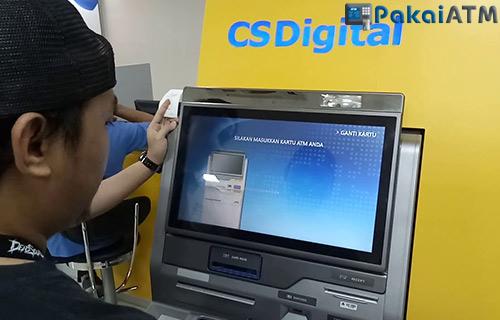 Langkah Ganti Kartu ATM lewat CS Digital