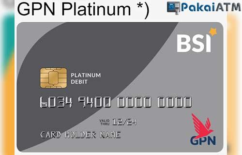 Limit ATM GPN Platinum