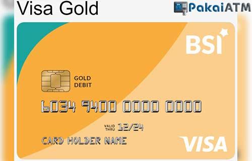 Limit ATM VISA Gold