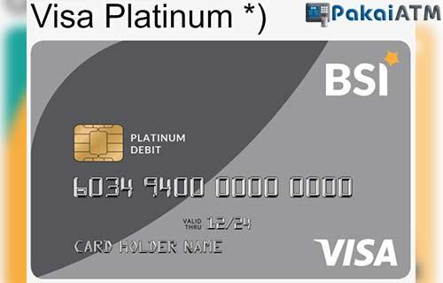 Limit ATM VISA Platinum