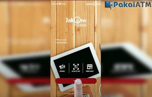 Login JakOne Mobile