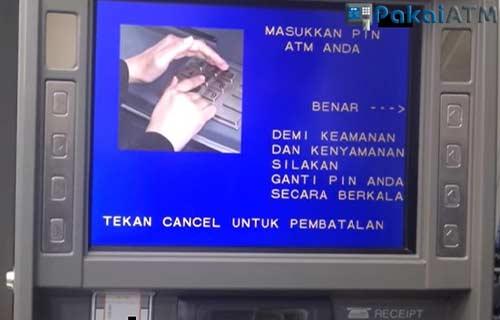 Masukkan Kartu PIN ATM