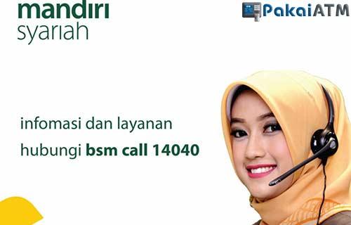 Menghubungi Call Center Mandiri Syariah