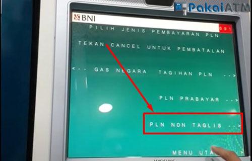 Pilih PLN Non Taglis