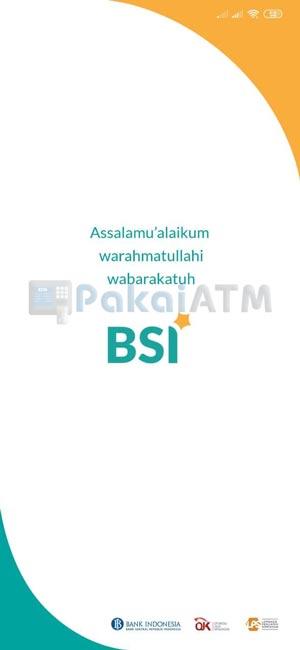 1. Masuk ke Aplikasi BSI Mobile