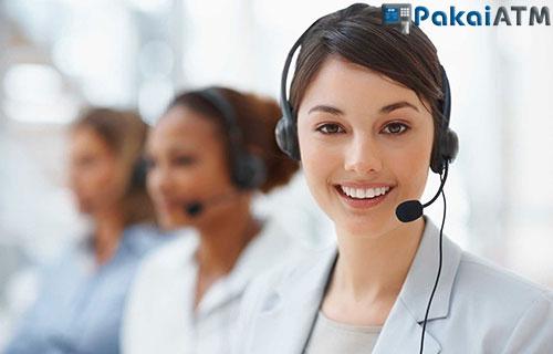 1. Menghubungi Customer Service