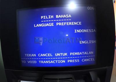 3. Pilih Bahasa