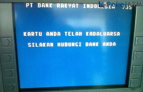 4. Masa Berlaku ATM Habis
