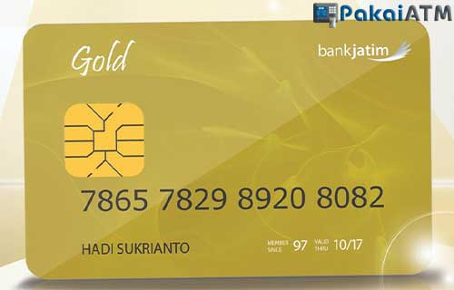 ATM Bank Jatim Gold