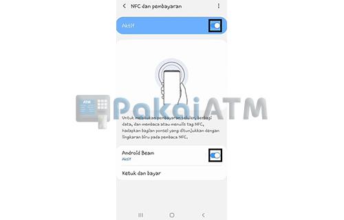 Aktifkan Fitur NFC