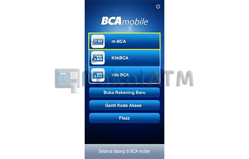 Buka Aplikasi BCA Mobile 2