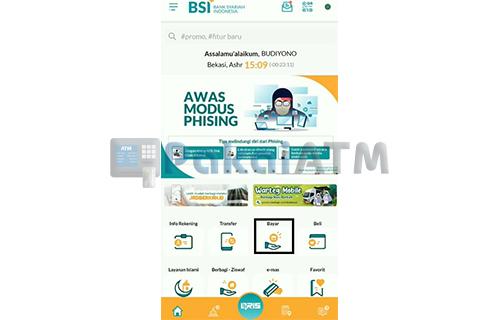 Buka Aplikasi BSI Mobile 1
