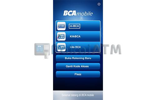 Buka Aplikasi Mobile Banking BCA