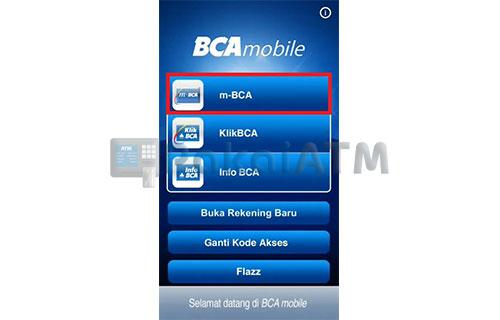 Buka Mobile Banking BCA 1