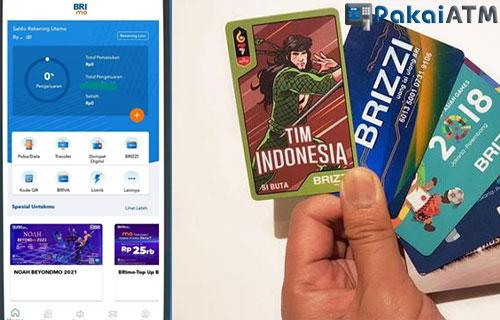 Cara Top Up Brizzi Lewat Mobile Banking BRI