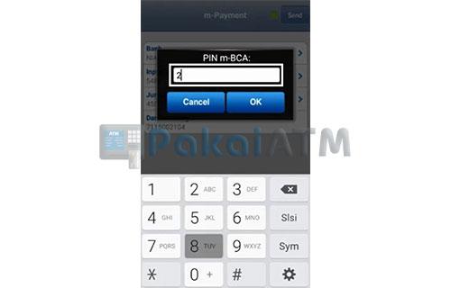 Input PIN m BCA