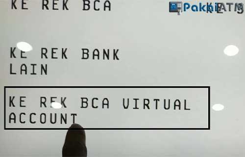 Lewat ATM BCA