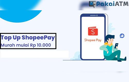 Limit Top Up ShopeePay via mBanking BSI