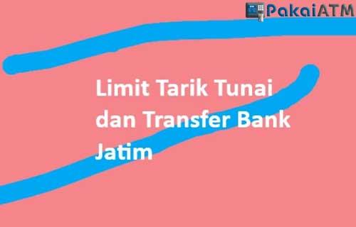 Limit Transaksi di ATM Jatim
