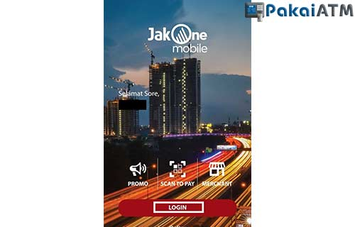 Login JakOne Mobile