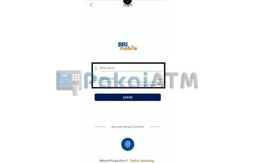 Login Mobile Banking BRI
