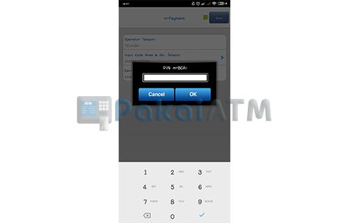 Masukkan MPIN BCA Mobile
