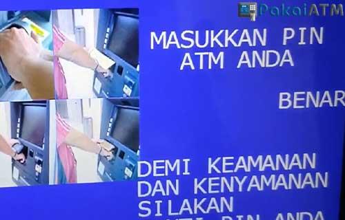 Masukkan PIN ATM 1
