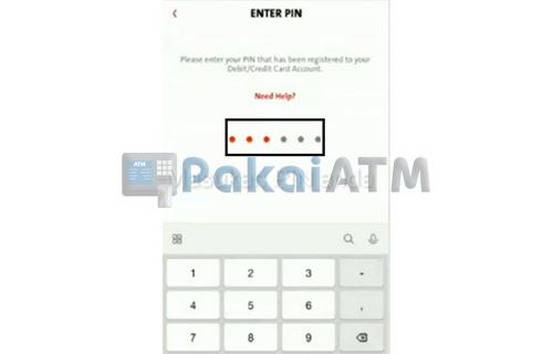 Masukkan PIN ATM 2