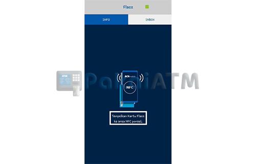 Tempelkan Kartu Flazz ke Smartphone