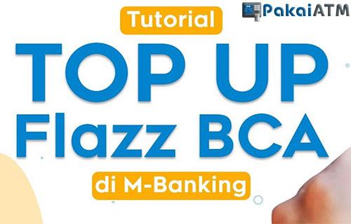 Top Up Flazz via BCA Mobile