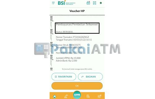 Top Up Pulsa Telkomsel Telah Berhasil