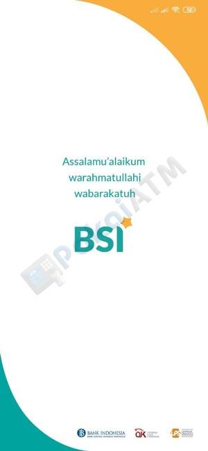 1. Buka Aplikasi BSI Mobile di HP Anda