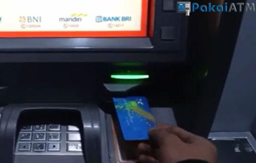 1. Masukkan Kartu ATM 1