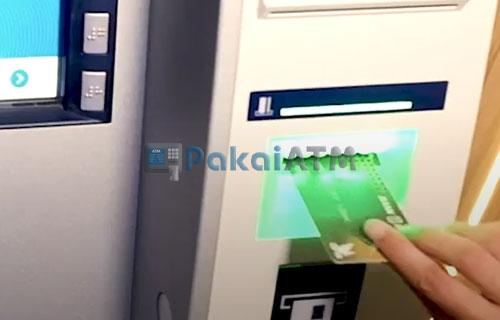 1. Masukkan Kartu ATM BPD DIY