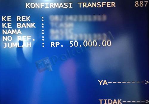 10. Konfirmasi Transaksi