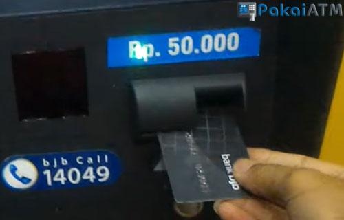 2. Masukkan Kartu ATM 1