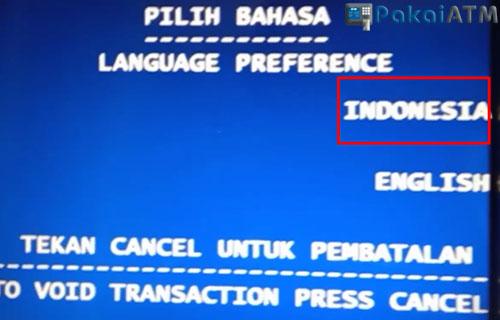 2. Pilih Bahasa Indonesia 2