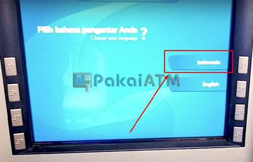 2. Pilih Bahasa Indonesia 3